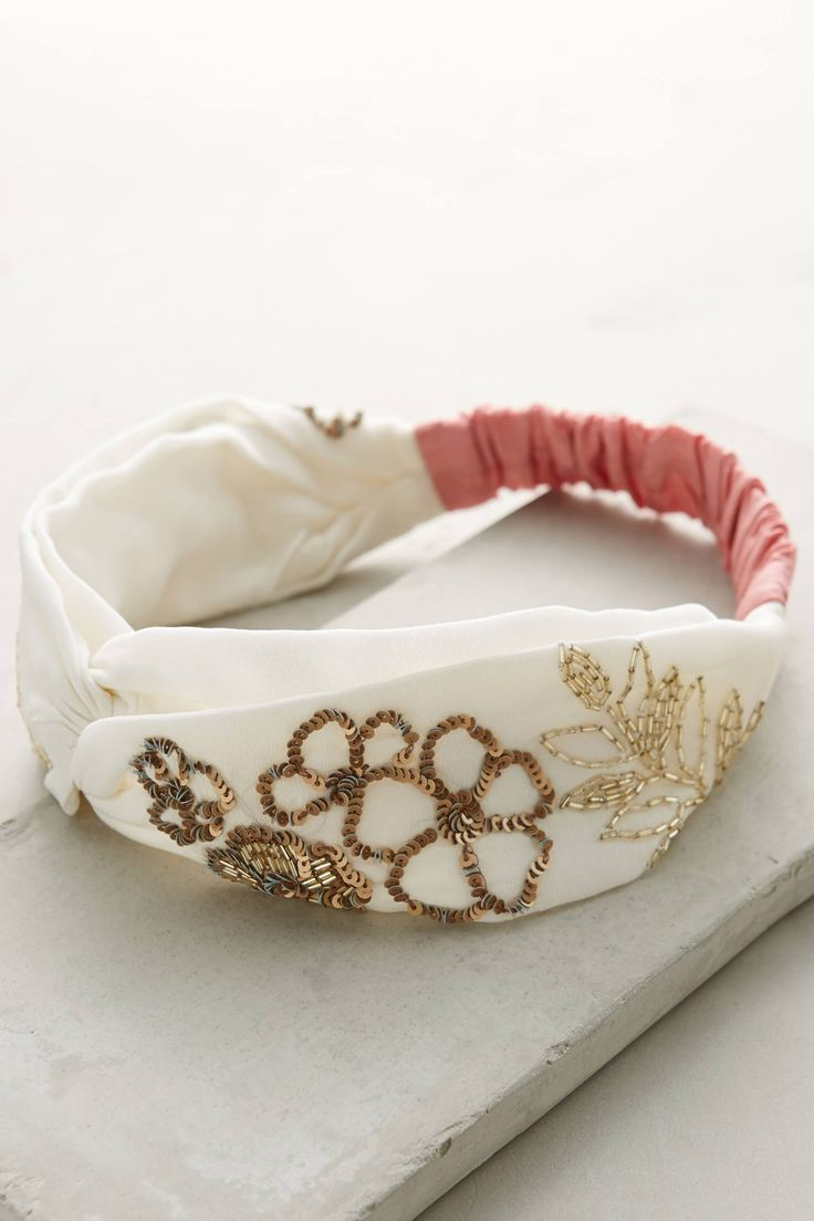 You know those super-tight headbands that always end up giving you a headache? This isn't one of them. And—eh hem—it's adorable to boot. $32; Anthropologie.   - Redbook.com