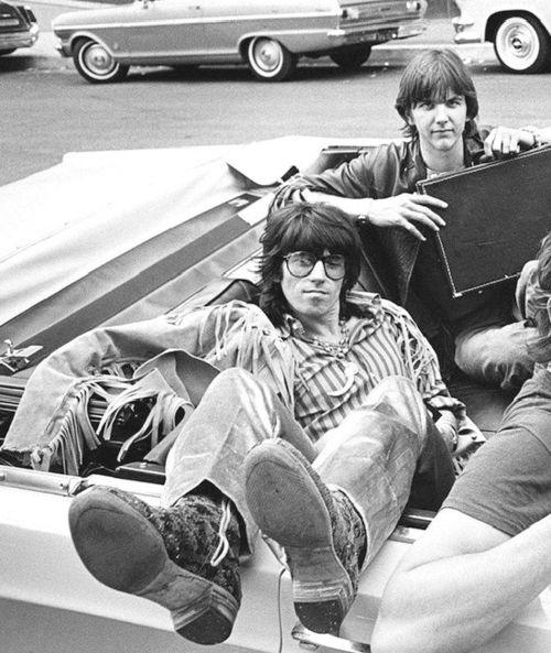 Keith Richards  Gram Parsons