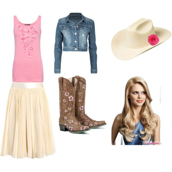"""Cute and Country"". Need to put something like this together for the Sweetheart Day concert."