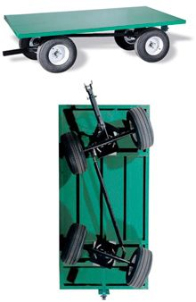 4 Wheel Steering Truck | Wheel Steer Trailers