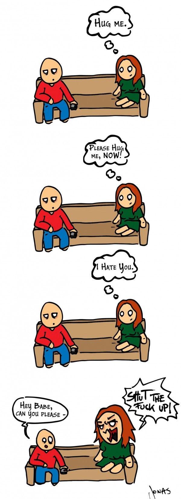 Funny Girlfriend Conversation - http://www.jokideo.com/funny-girlfriend-conversation/