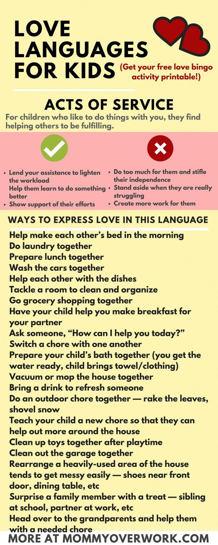 Learn The Five 5 Love Languages For Kids By Gary Chapman 100 Fun