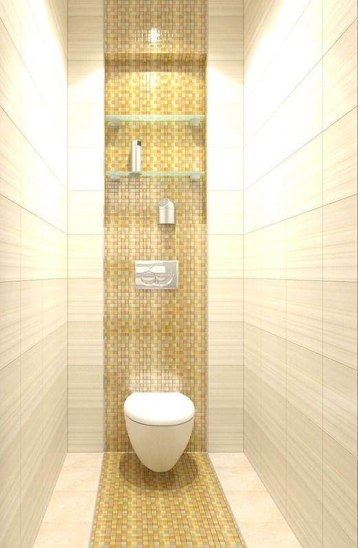 Туалетная комната в квартире дизайн