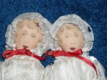 Cloth Twin Dolls