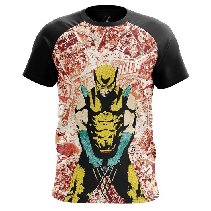 Nice Mens T-Shirt Wolverine 2 Logan Xmen 2  – Search tags: