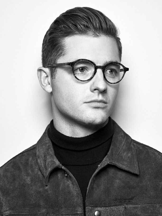 Article from WWD.com - LA Galaxy's Robbie Rogers on Soccer, Fashion and Fatherhood - published 2016-Dec-16 - laeyeworks eyewear campaign