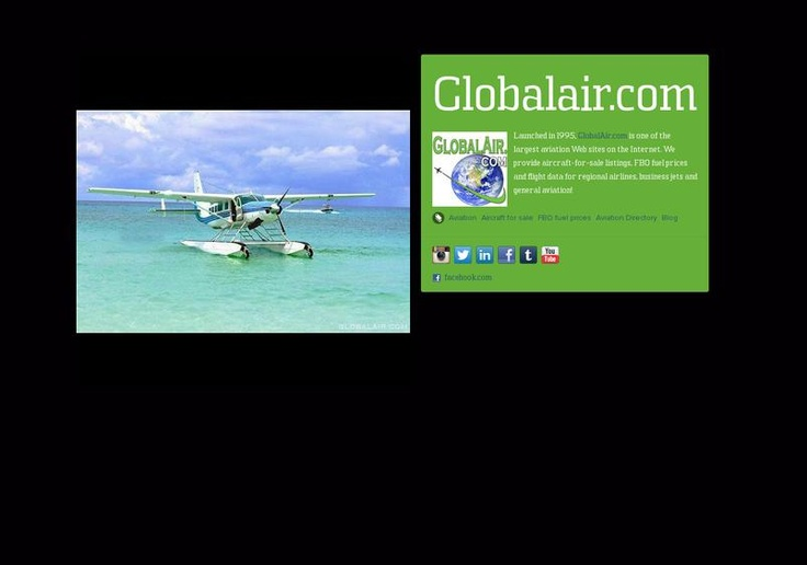 Look! Globalair.com has a page on about.me – http://about.me/globalair.com