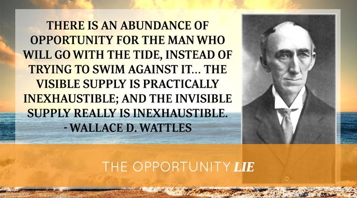 Is opportunity monopolized? Bob Proctor explores Wallace Wattle's life-changing answer…   Proctor Gallagher Institute #bobproctor #resultsthatstick #opportunity