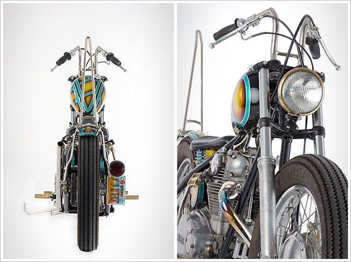 """Desert Motorcycle Company's '81 Yamaha XS650 - """"GoldenSpike"""""""