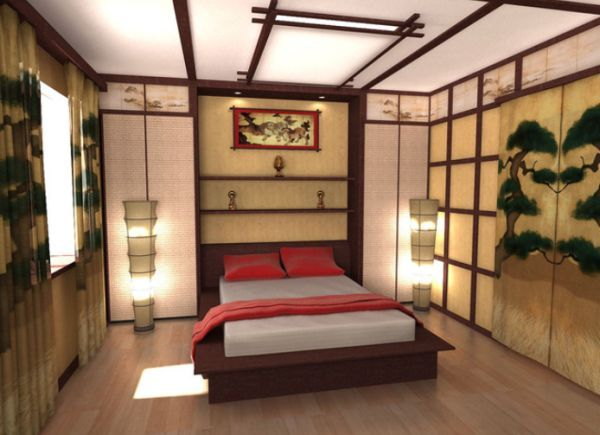 Captivating Five East Asian Inspired Bedroom Ideas Part 6
