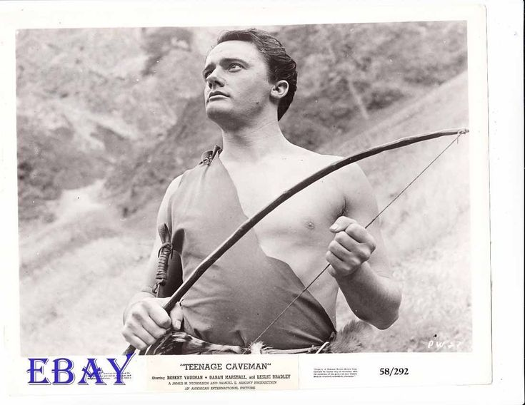 Robert Vaughn barechested VINTAGE Photo Teenage Caveman | eBay