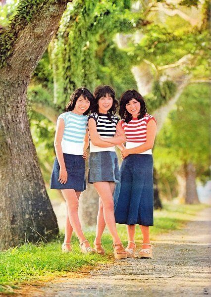 [mixiページ] キャンディーズ『夏が来た!』特典ポスター