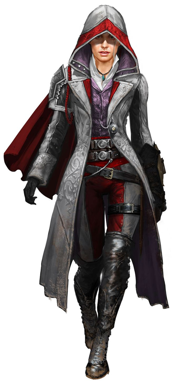 Ideas for my Elf Rouge FemAssassin Inquisitor … And yes I know this is a character from The Assassins Creed Series ;-) … Her outfit is just so slick!