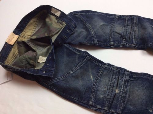Denim-Supply-Ralph-Lauren-Men-Camo-Moto-Vintage-Wash-Distressed-Slim-Jeans-Pants
