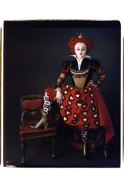 Tim Burton Alice In Wonderland Red Queen Dress Costume | eBay