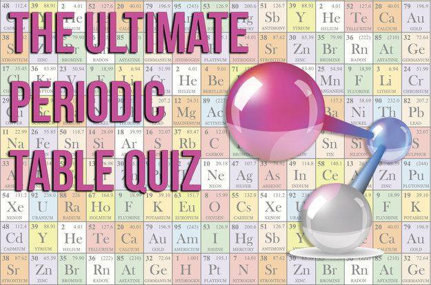 The Hardest Periodic Table Quiz Ever - I GOT 20/20!