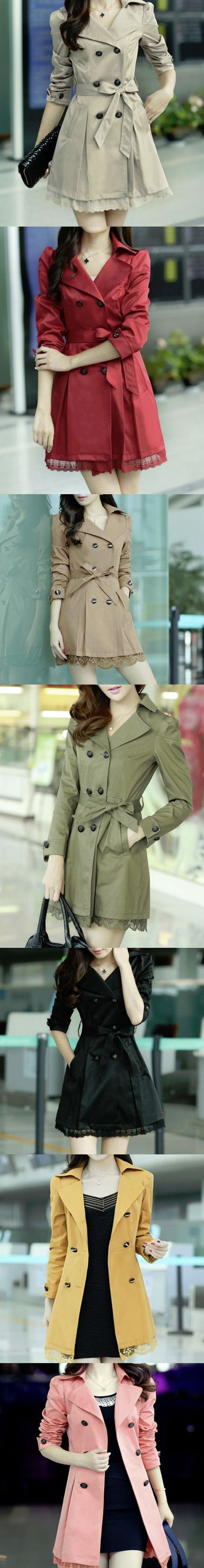 Trench Coat for Fall. Women's fall fashion style