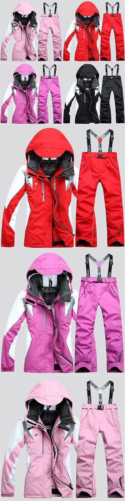 Snowsuits 62178: Women Hiking Ski Snow Suit Waterproof Snowboard Clothing Coat+Pants Warm Hot -> BUY IT NOW ONLY: $107.99 on eBay!