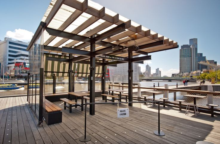 The Boatbuilders Yard - Melbourne - South Wharf - Outdoor deck - Functions