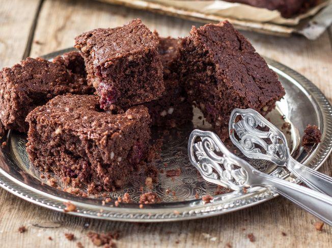 Kirsch-Brownies