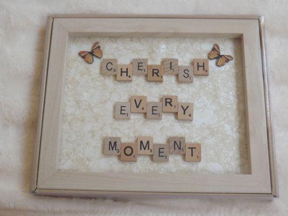 Frame Scrabble Scrabble Letters Scrabble Tiles by TTsTreasureTrove