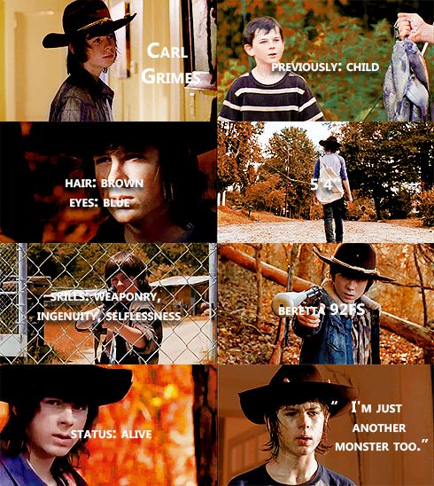 Knowing About Carl Grimes #TWD