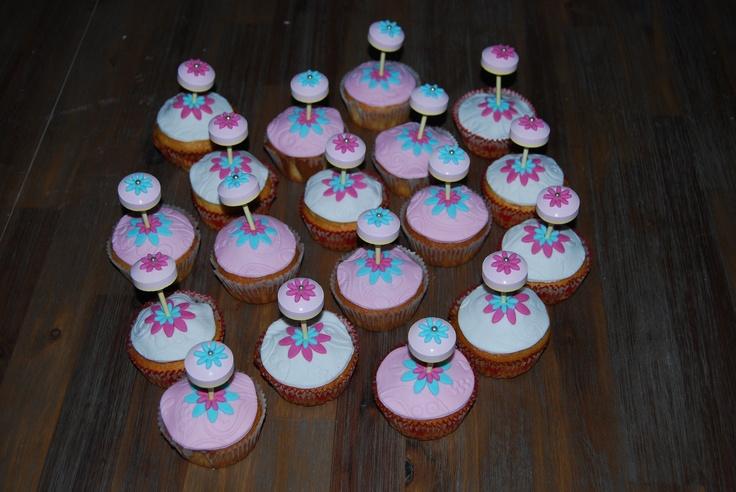 cupcakes traktatie voor Lois