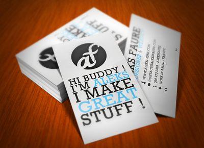 14 best business cards for freelance graphic designers web business card of aleks faure freelance art director web ui designer colourmoves