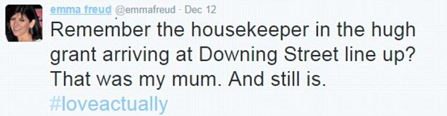 writer emma freud reveals plot secrets twitter daily mail online davis son extraordinary family secret