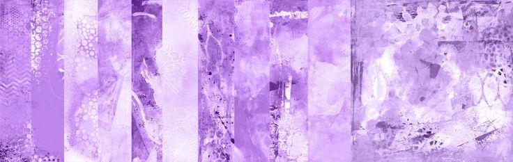 Purple Background Papers Set 1 of 2 by StudiosuzybAustralia on Etsy