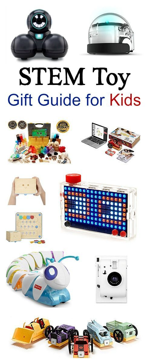 10 of the Best STEM Toys and STEM Activities for Kids: STEM Toy Gift Guide for kids- You'll find robots for coding for a wide range of ages (even as young as preschool) and all kinds of hands-on toys encouraging science, technology, engineering and math learning!