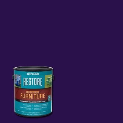 Rust-Oleum Restore 1 gal. Purple Outdoor Furniture Coating-291284 - The Home Depot