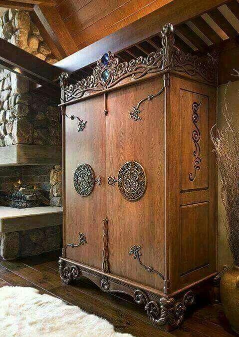 beautiful celtic dresser cabinet