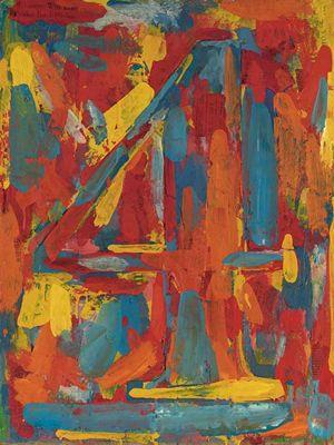 Jasper Johns Number 4