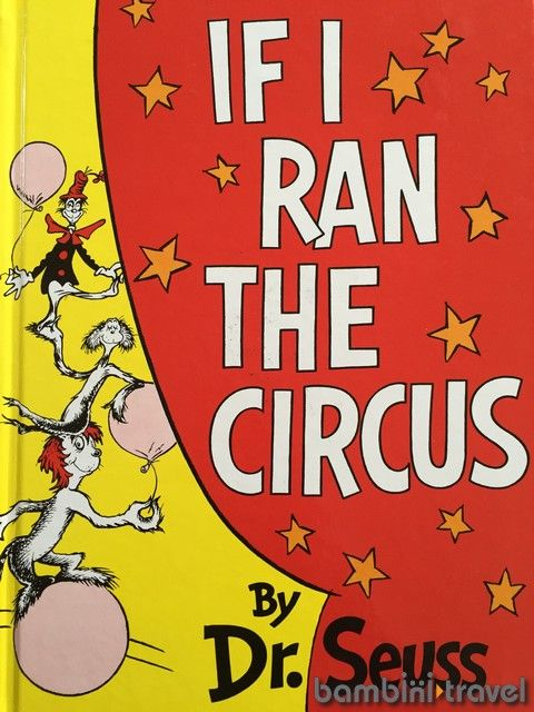 If I Ran the Circus : Read. Go. Play. | Dr Seuss book inspired adventure and activity for preschoolers and early elementary | Bambini Travel