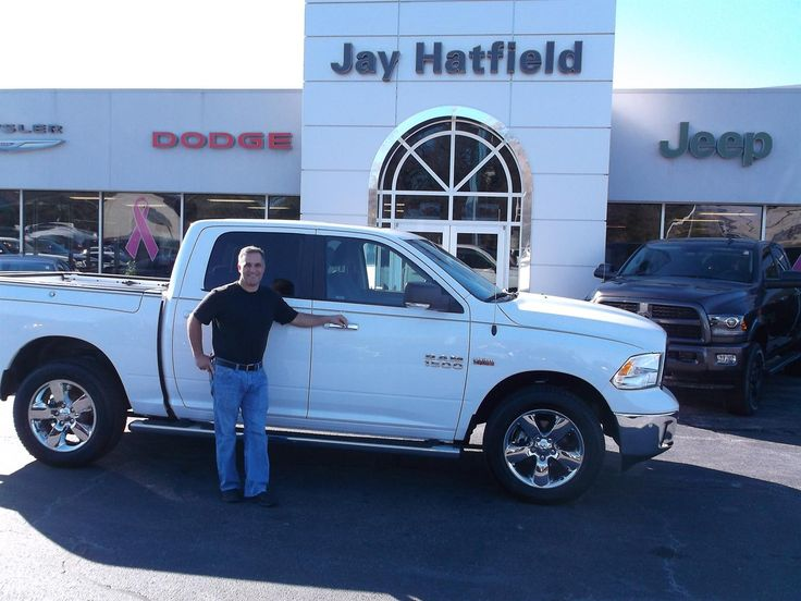 DON's new 2016 RAM 1500 BIG HORN! Congratulations and best wishes from Jay Hatfield CDJR and BRYAN MORRIS.