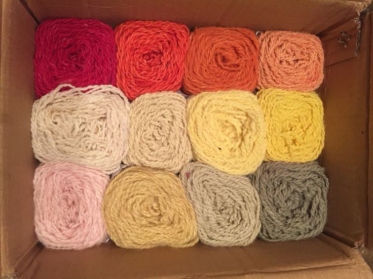 My own handspun yarn, dyed with plants  ©Unna Hallgren, Norway.   Feel free to share photo, but please, keep ny name with it!