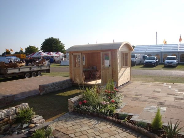 Curved Roof Shepherds Shed   Storage   Pinterest