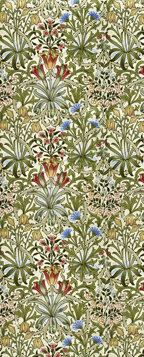 William Morris print. Simply perfect.