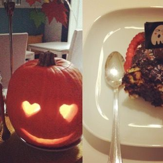 Happy Halloween! #lovepumpkins #lisbondreamsguesthouse #halloween #homemadecake