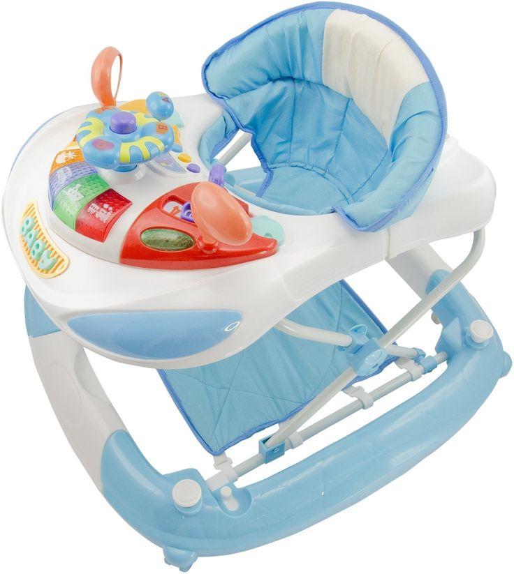 Bieco 19000815 - Activ zetel - en wandelaar blauw 73 x 70 x 55 cm: Amazon.de: Baby