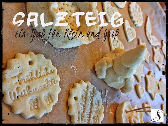 Weihnachtsgeschenke basteln mit Kindern - SALZTEIG: http://einfachstephie.de/2013/11/11/weihnachtsgeschenke-basteln-mit-kindern-salzteig/