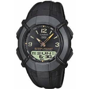 Casio Mens Watch with 30 Page Databank `CASIO Casio Mens Watch with 30 Page Databank The perfect sport watch for every traveller. With its analog digital combination you can see the time in up to 2 time zones and the world time feature means you™ http://www.MightGet.com/february-2017-1/casio-mens-watch-with-30-page-databank-casio.asp