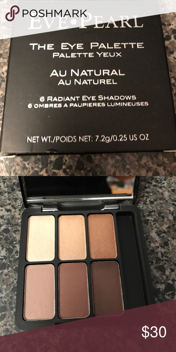 Eve Perl The Eye Palette Au Natural Brand new Eve Pearl Makeup Eyeshadow