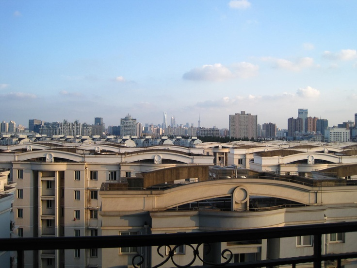 view of downtown Shanghai from Residence