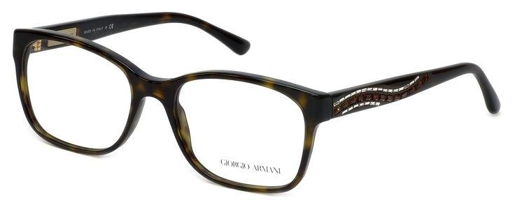 "Giorgio Armani Eyeglasses AR 7013-B HAVANA 5026 AR7013B. 5"" Frame Width 1.7"" Lens Height. Authentic Giorgio Armani Designer Optical Eyewear ; Hand Crafted in Italy. Includes Original Giorgio Armani Carrying Case. Demo Lens ; No Power. RX Ready."