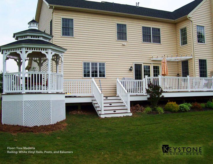 17 best trex decks images on pinterest backyard deck designs