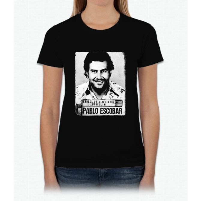 Pablo Escobar Womens T-Shirt