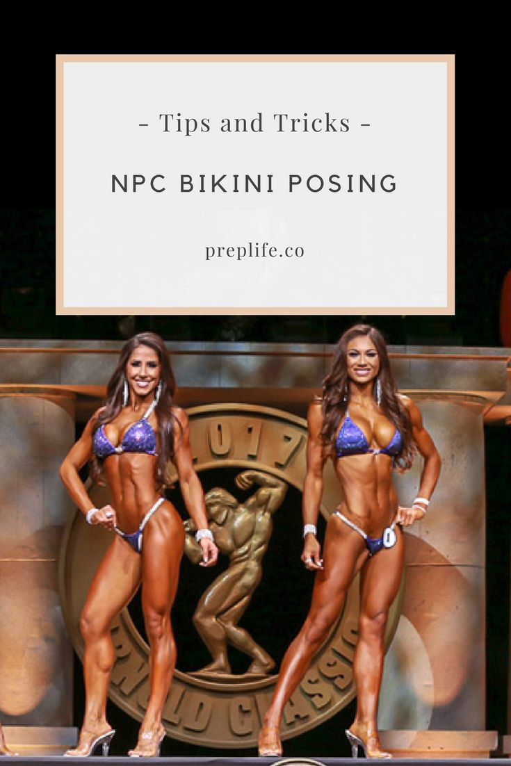 Tips and Tricks on NPC Bikini Posing - how to create a flattering silhouette and shape.