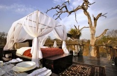 I've always wanted a canopy bed! One day!